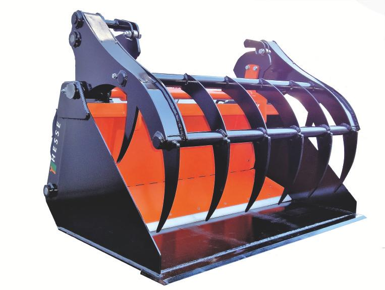 Silage Bucket L Type SP SB L RL/TL<br>SMART PUSH Image